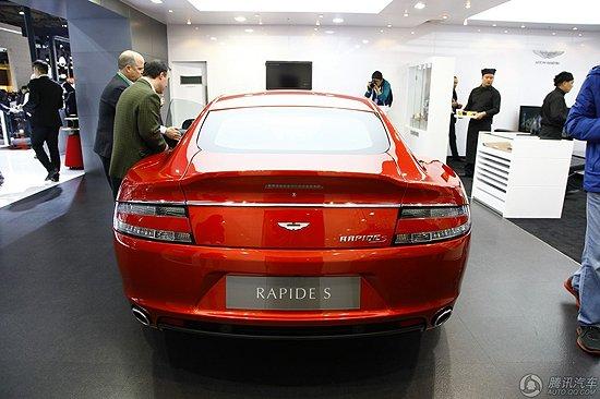 [新车解析]阿斯顿马丁Rapide S车展亮相