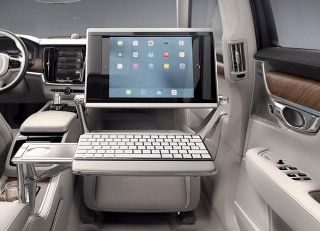 移动办公室 沃尔沃S90 T8三座荣誉版曝光