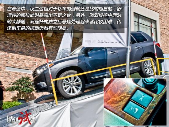 大汉穿新装 试驾广汽丰田新汉兰达v6车型高清图片