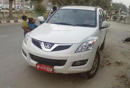 长城汽车在印度测试哈弗H5 有望在当地贴牌销售