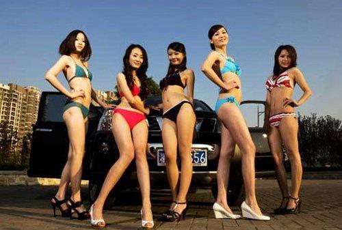 中国超级汽车模特大赛 登陆2012华中车展