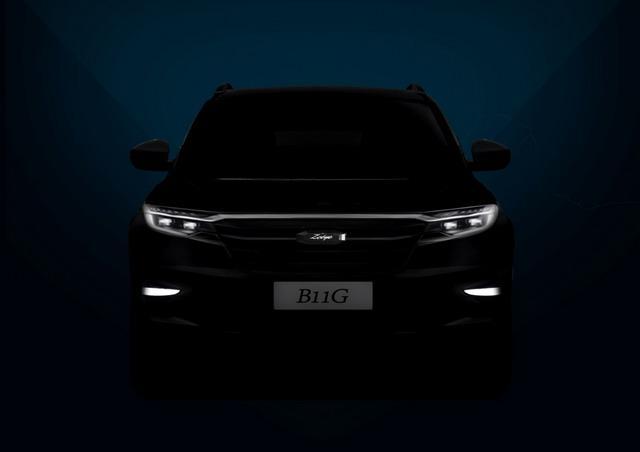 众泰新款SUV B11G效果图曝光 科技感十足