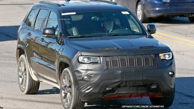 Jeep新款大切诺基谍照曝光 明年推出