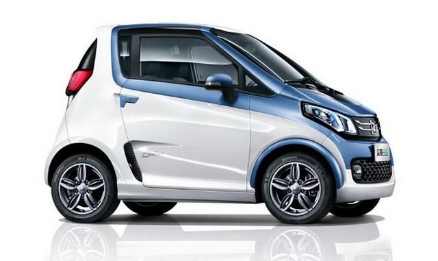 中国版smart EV 新款众泰E200官图发布
