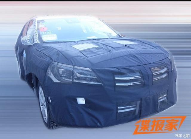 荣威Vision-E量产版谍照 沿用观点车设计