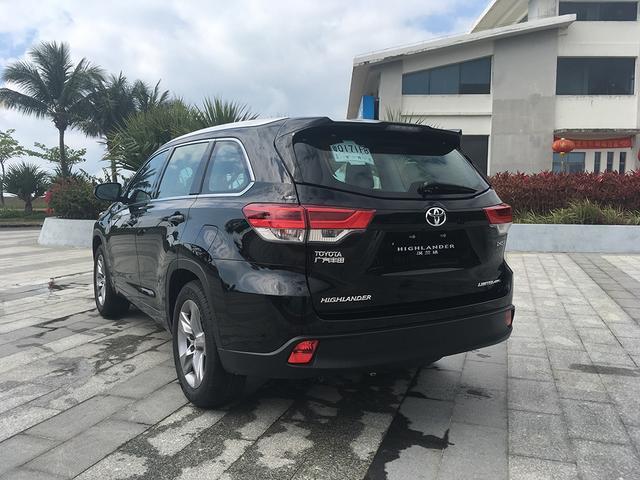 2018款丰田汉兰达上市 售价23.98-33.08万