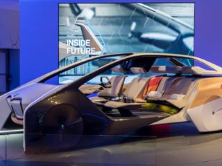 BMW未来概念座舱亮相CESA