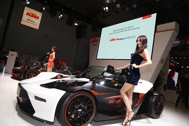 """""""公路大玩具""""KTM X-BOW GT亮相成都车展"""