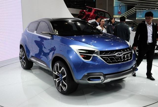 奇瑞T17量产车设计图公布 上海车展亮相