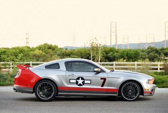 [新车发布]福特野马gt red tails特别版发布_汽车