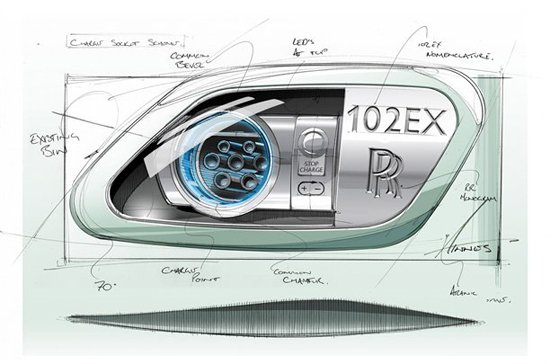 劳斯莱斯幻影电动版概念车