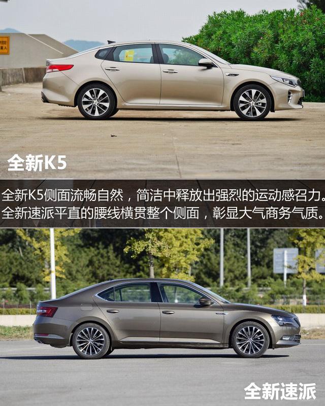 全新K5对比全新速派 高颜值美男硬实力比拼