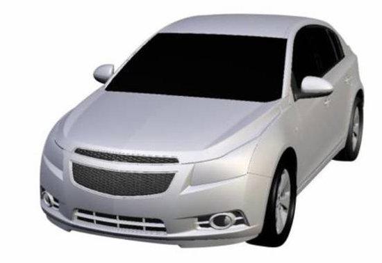 科鲁兹两厢1.6L现身目录 有望上海车展上市