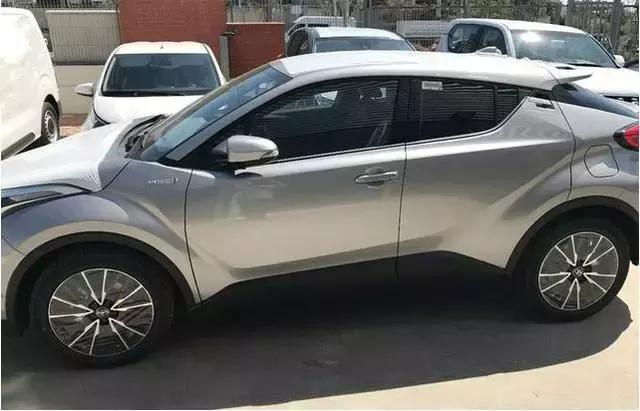 一汽丰田再产全新SUV 全新丰田C-HR曝光