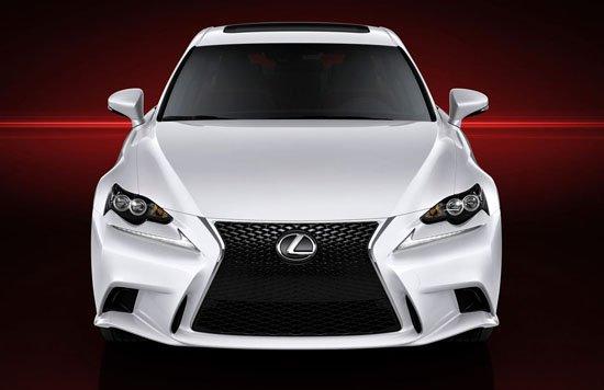雷克萨斯将在下周开幕的2013底特律车展上发布新一代的IS,而在这之前,新车的一组官方图片提前被披露出来