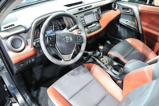 [新车发布]丰田全新一代RAV4洛杉矶车展首发
