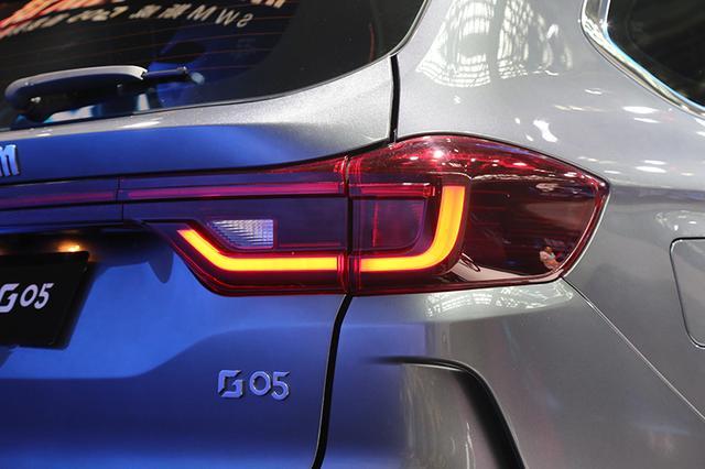 定位7座中型SUV SWM斯威G05重庆车展首发亮相
