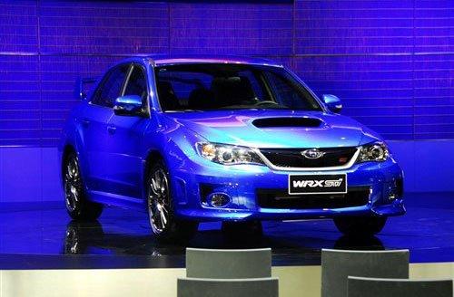 斯巴鲁新翼豹WRX STI三厢上市 售49.8万