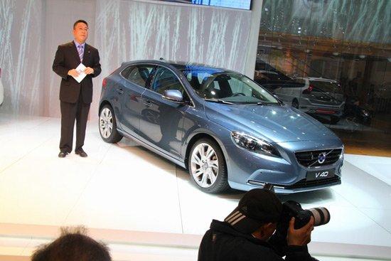 沃尔沃V60 T6 R-Design/V40亮相北京车展