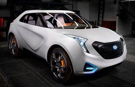 现代推Curb跨界概念车 底特律车展登场