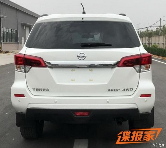 高颜值硬派SUV 郑州日产Terra申报图曝光
