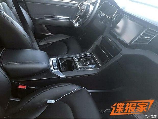 『大迈x7 2.0t自动挡车型内饰谍照』