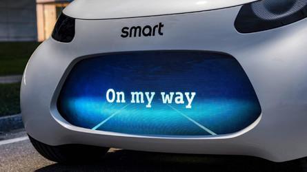 Smart全新无人驾驶概念车官图发布9月首秀
