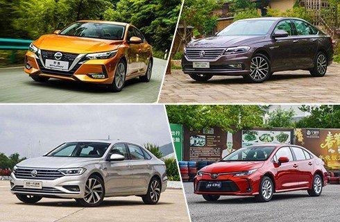 日系/大众绝对领先 自主品牌仅一款上榜 上半年轿车销量Top10大盘点