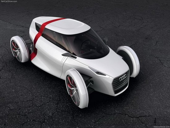 奥迪推出两款未来城市概念车 法兰克福首发