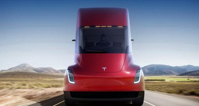 特斯拉Semi卡车预售价宣布 15万美元起
