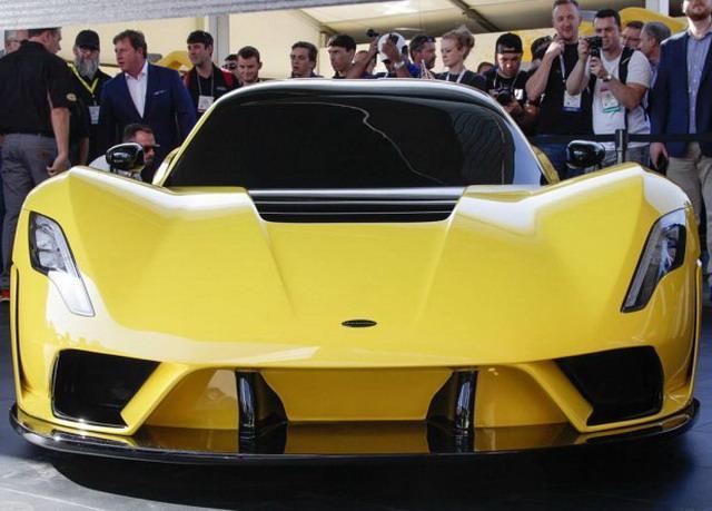 Hennessey Venom F5发布 限量24台