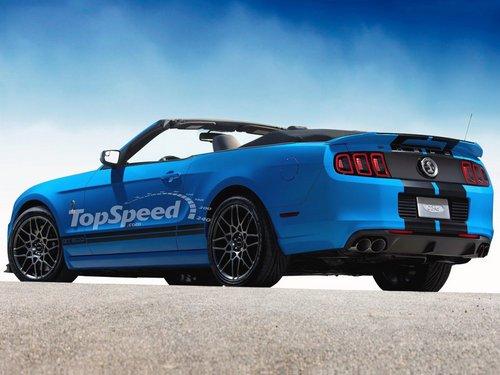 福特野马GT 500敞篷 V8引擎/底特律亮相