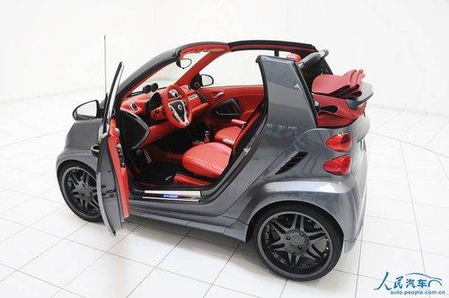 巴博斯改装价值百万Smart将亮相北京车展
