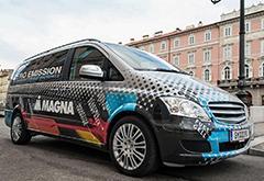 加拿大研发增程式电动概念车 可自动充电续航350公里