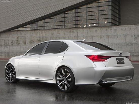 新一代GS雏形!雷克萨斯LF-Gh概念车发布