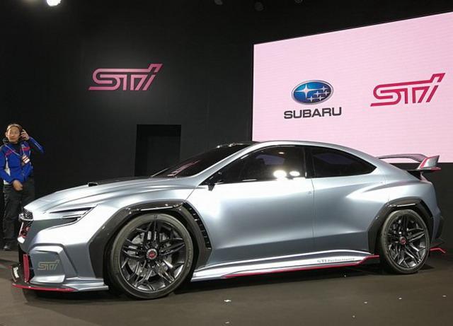 斯巴鲁全新STI概念车 2018年东京改装展发布