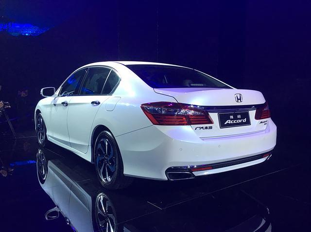 广汽本田新款雅阁上市 售16.98万-23.78万