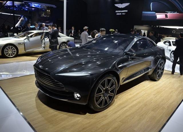 阿斯顿·马丁首款SUV DBX车型将2019年亮相