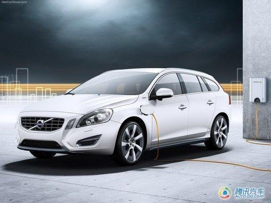 日内瓦车展发布 沃尔沃插电式V60混合动力