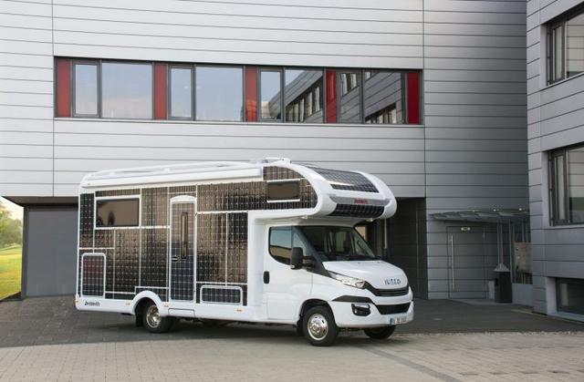 德国公司推出太阳能电动房车 野外露营首选