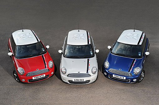 MINI推出伦敦奥运特别版车型 限量发售