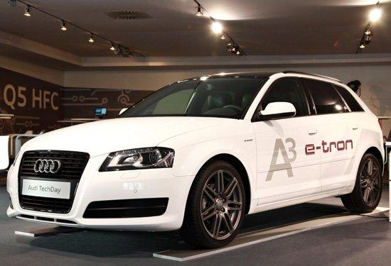 奥迪A3 e-tron纯电动车 续航里程140公里