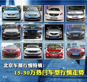 北京车展行情特辑:15-30万热门车型行情