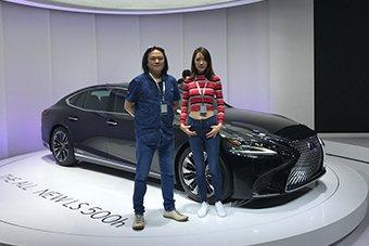 雷克萨斯全新LS 500h亚洲首发 总裁级座驾