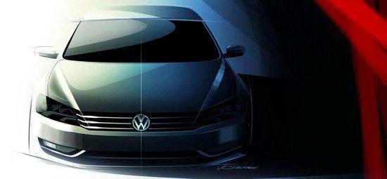 北美车展临近 大众中型车NMS或全球首发