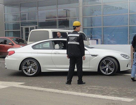 [北京车展探营]2012款宝马M6 Coupe将亮相