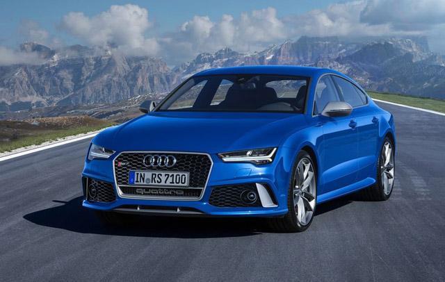 奥迪RS7高性能版洛杉矶车展首发 性能更强