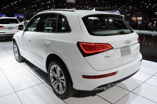 奥迪新款Q5车展上市 售35.85-65.8万元