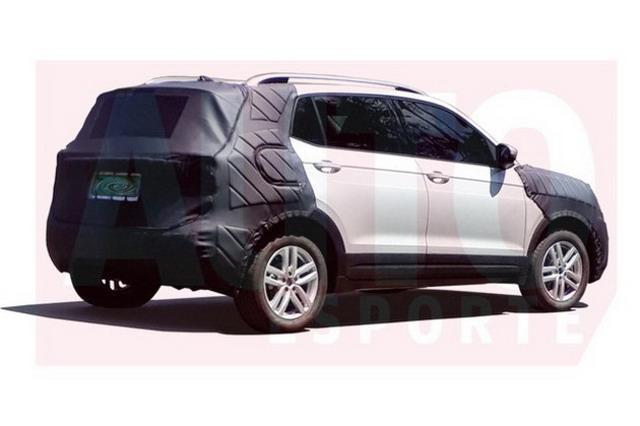 公共全新跨界SUV T-CROSS量产版谍照曝光