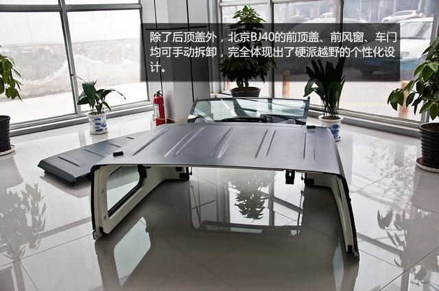 [新车实拍]北京汽车BJ40到店实拍 不拘小节